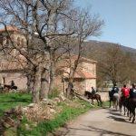Paseo ecuestre por Naveda (Campoo de Suso)